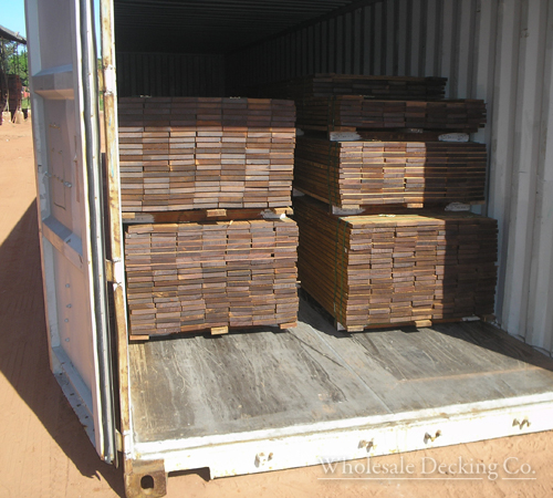 wholesale decking shipped