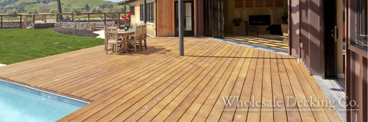 Wholesale Garapa Decking